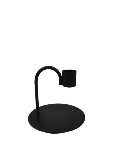 Kandelaar Bow 9cm black