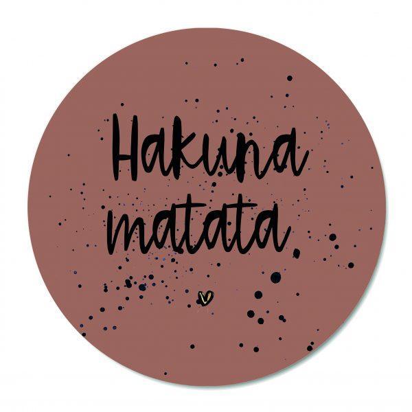Muurcirkel - Hakuna Matata