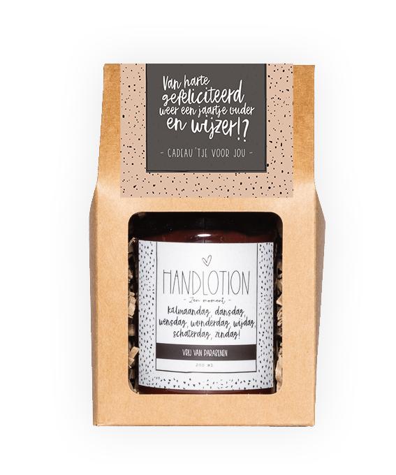 Handlotion giftbox - Gefeliciteerd