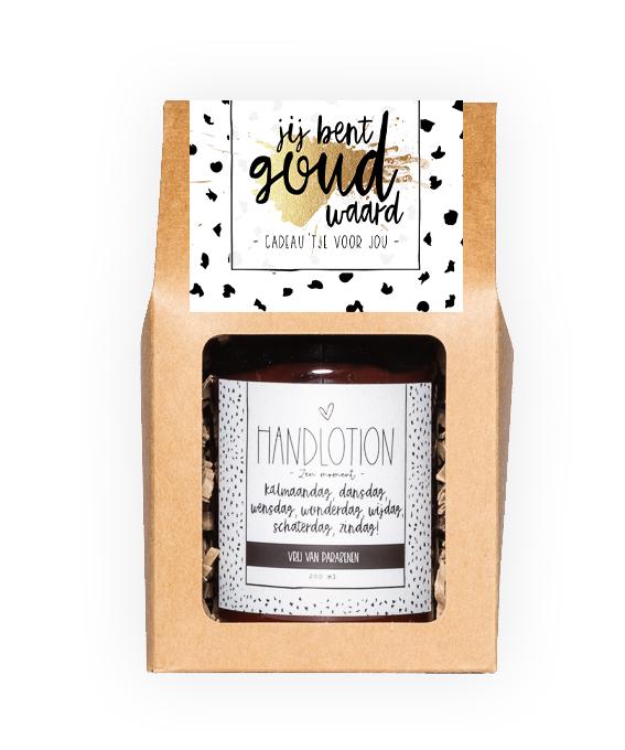 Handlotion giftbox - Goud waard