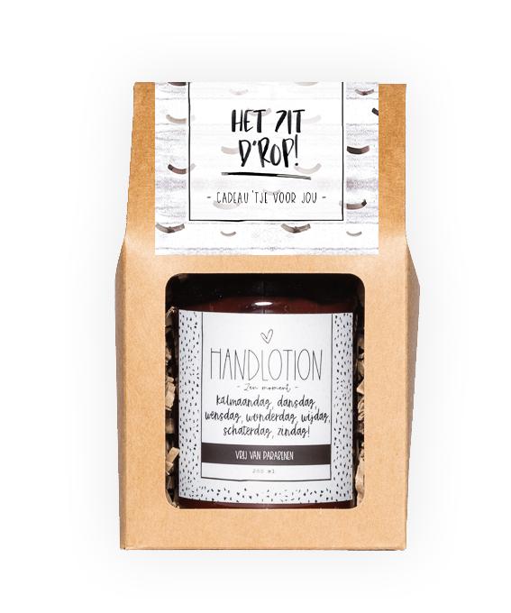 Handlotion giftbox - Zit d'rop