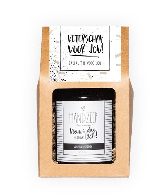 Handzeep giftbox - Beterschap