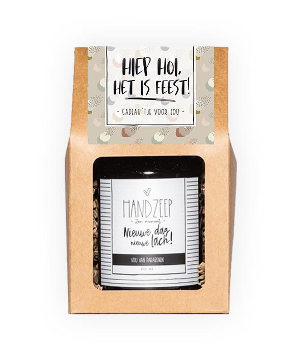 Handzeep giftbox - Hiep hoi