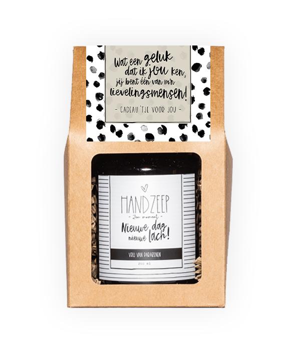 Handzeep giftbox - Lievelingsmens