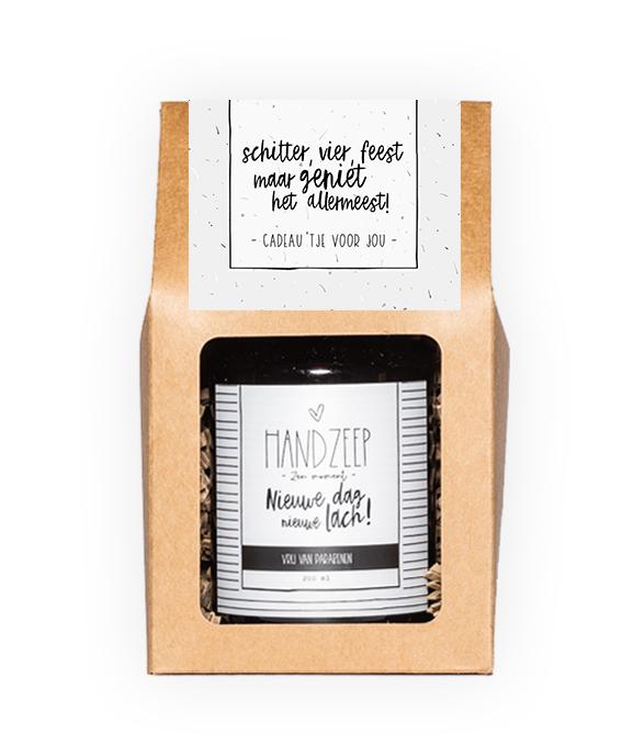 Handzeep giftbox - Schitter