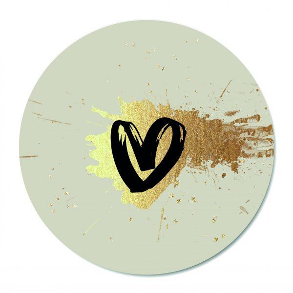 Muurcirkel - Heart of Gold