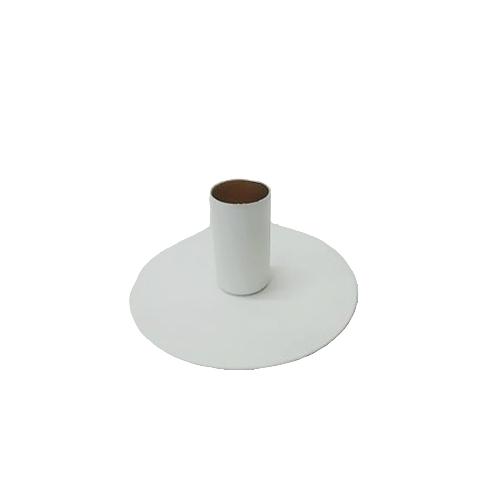 Kandelaar Isa 10x4,5cm - wit