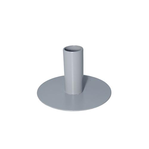 Kandelaar grijs 6,5cm