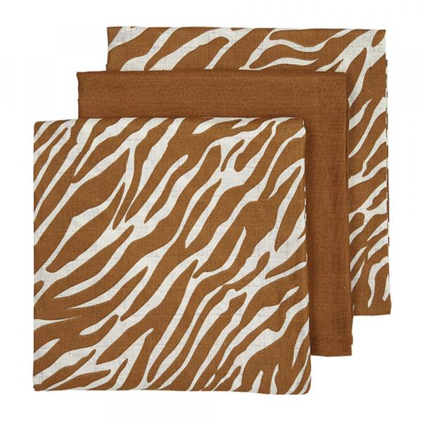 Meyco luierdoekjes zebra camel
