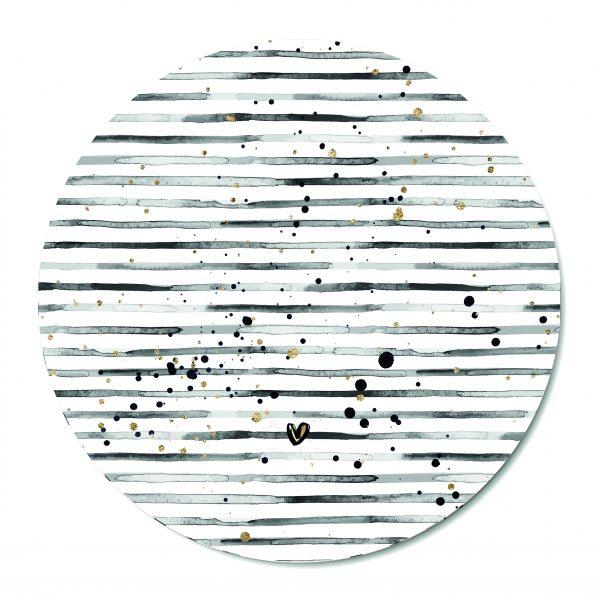 Muurcirkel - Stripes