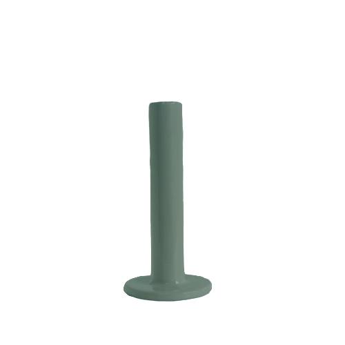 Tube kandelaar 15,5cm green