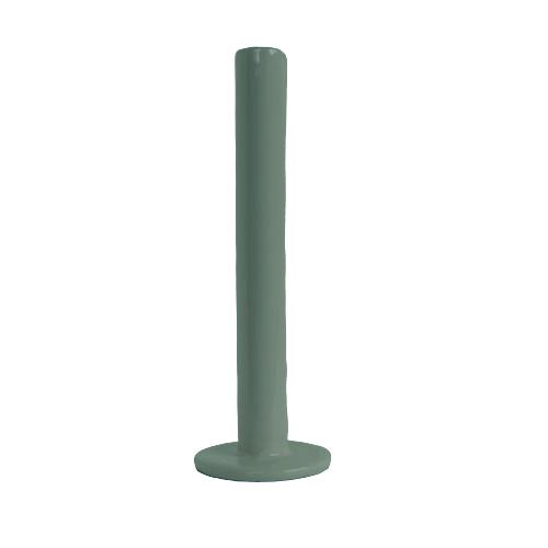 Tube kandelaar 21cm green
