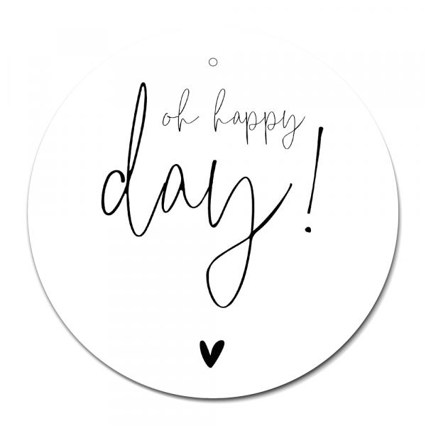 Cirkel Oh happy day