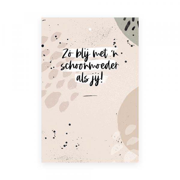 Cadeaukaart Schoonmoeder