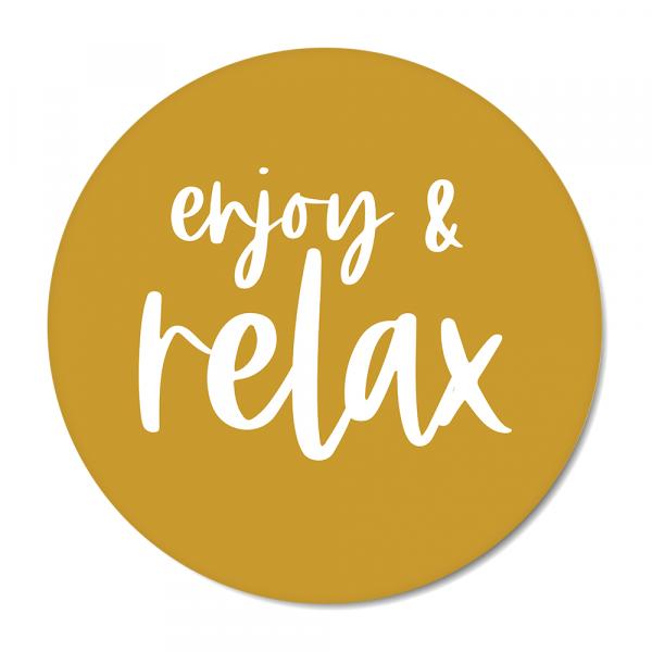 Cirkel enjoy & relax oker