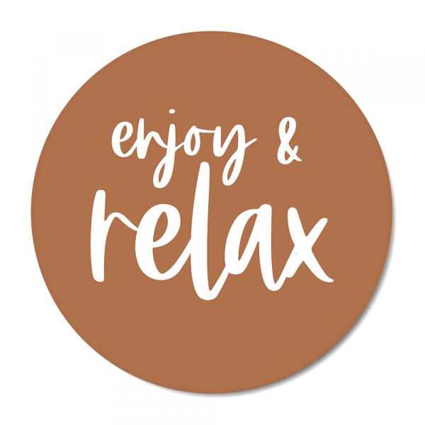 Cirkel enjoy & relax roest