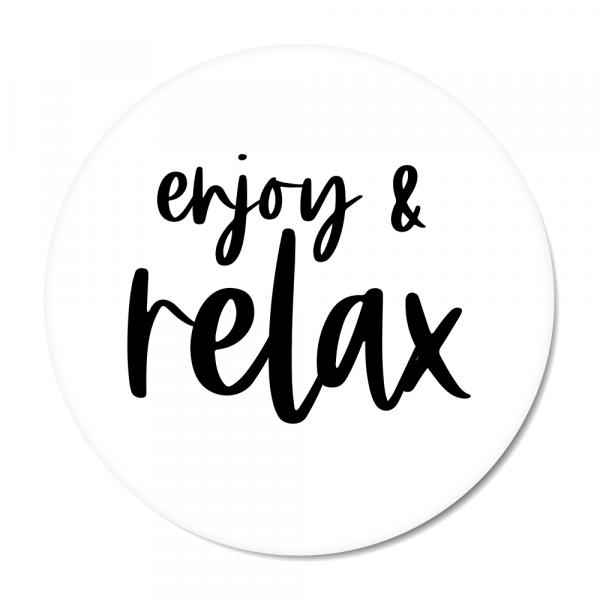 Cirkel enjoy & relax zwart