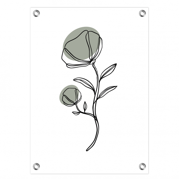 Tuinposter Flower mint