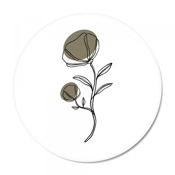 Cirkel Klaproos olijf