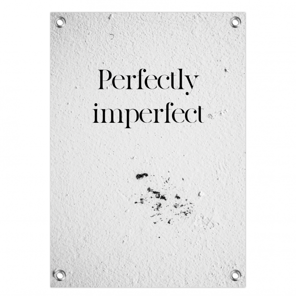 Tuinposter Perfectly imperfect - concrete
