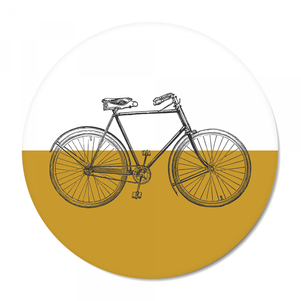 Cirkel Vintage - bike - oker