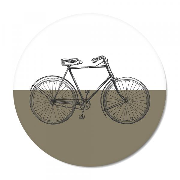 Cirkel Vintage - bike - olijf