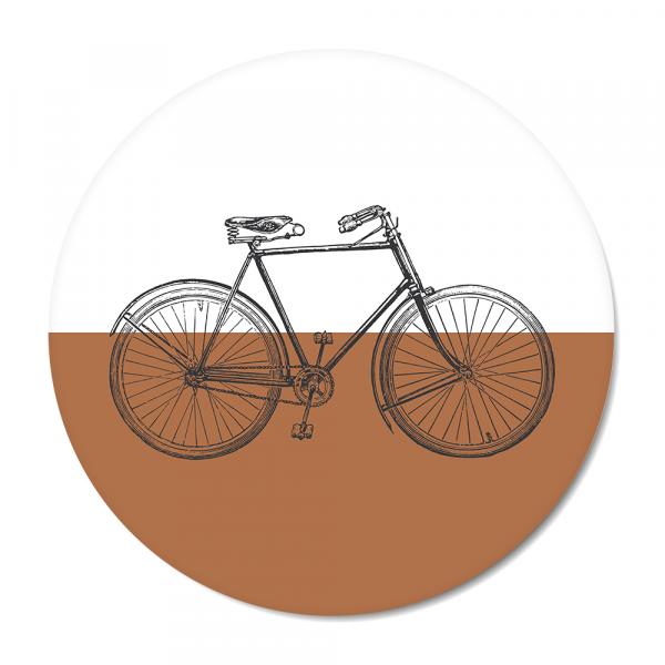 Cirkel Vintage - bike - roest