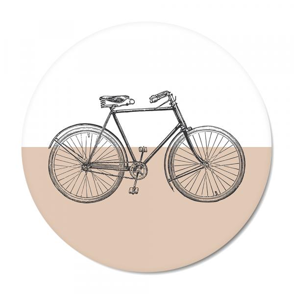 Cirkel Vintage - bike - roze