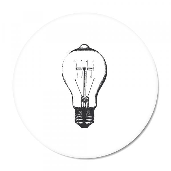 Cirkel - Vintage - bulb - wit