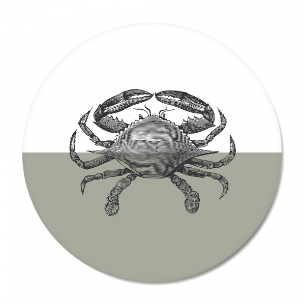 Cirkel - Vintage - crab - mint