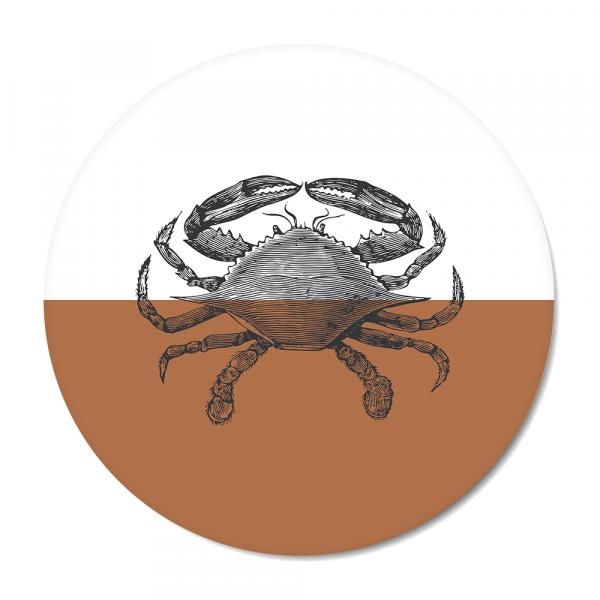 Cirkel - Vintage - crab - roest