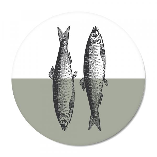 Cirkel - Vintage - fish - mint