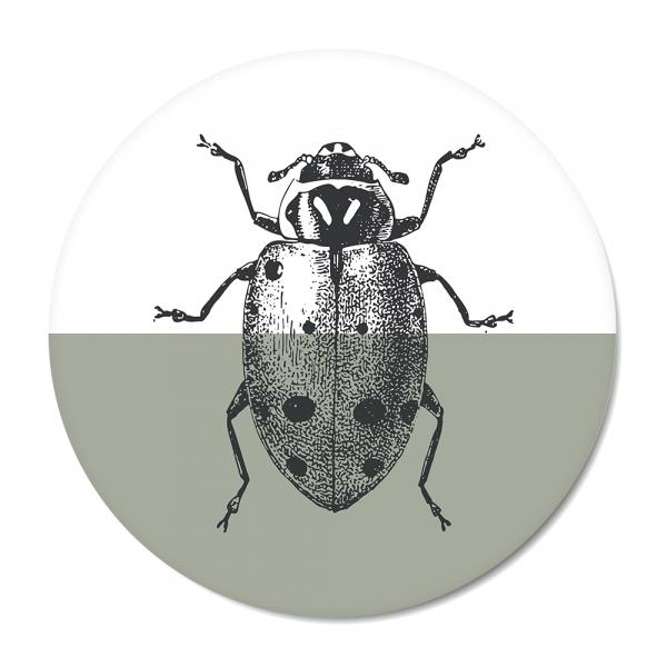 Cirkel - Vintage - ladybug - mint