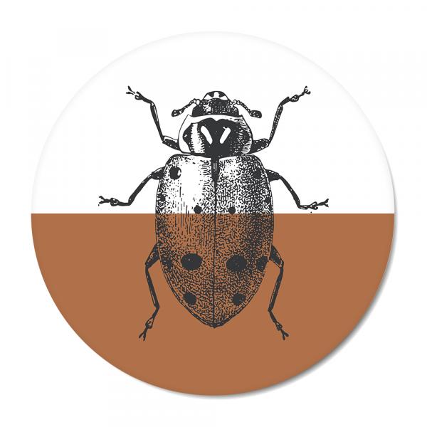 Cirkel - Vintage - ladybug - roest